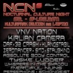 6. Nocturnal Culture Night – Neue Bands und Opener