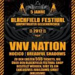 Blackfield Festival 2012 - Vorverkauf gestartet