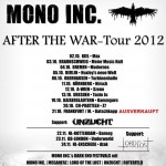 "Mono Inc. – Tickets zur ""After The War"" Tour werden knapp"