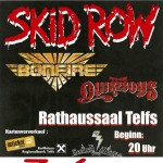 Skid Row + Bonfire in Telfs!