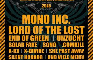 Blackfield Festival 2015 - Erste Bands bestätigt, Mono Inc., Lord of the Lost uvm.