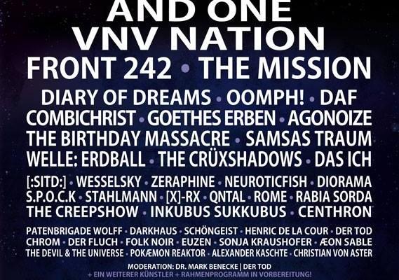 9 Neuzugänge für das Amphi Festival 2015