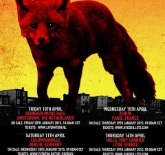The Prodigy - The Day Is My Enemy Europatour 2015 - Jetzt Tickets kaufen!