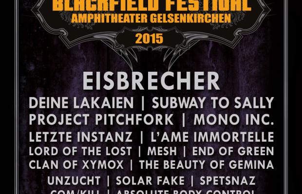 Blackfield Festival 2015 - Flyer Final
