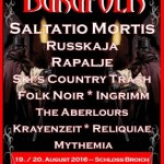 Burgfolk Festival 2016 - Flyer