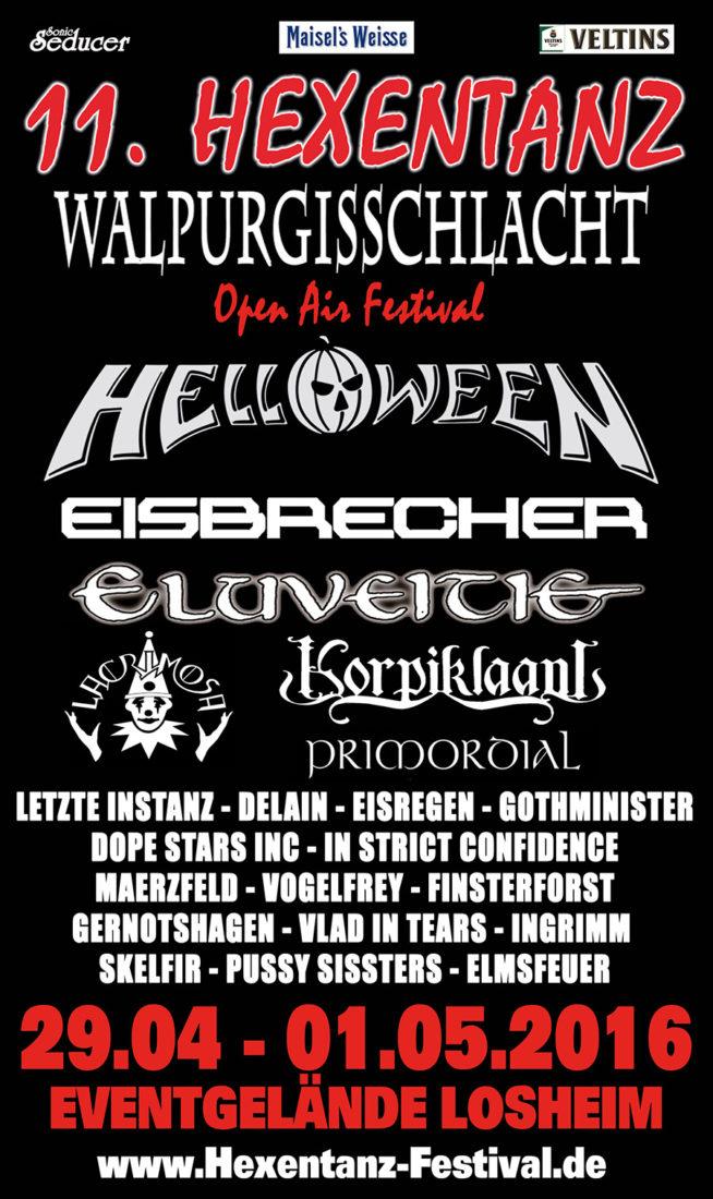 Losheim 2018 abgesagt hexentanz Hexentanz Festival