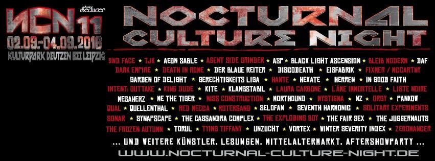 Nocturnal Culture Night 2016
