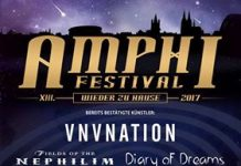 Amphi Festival 2017 - Fields of the Nephilim u.a. bestätigt