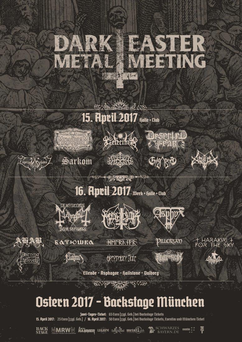 foto de Running Order: Dark Easter Metal Meeting 2017
