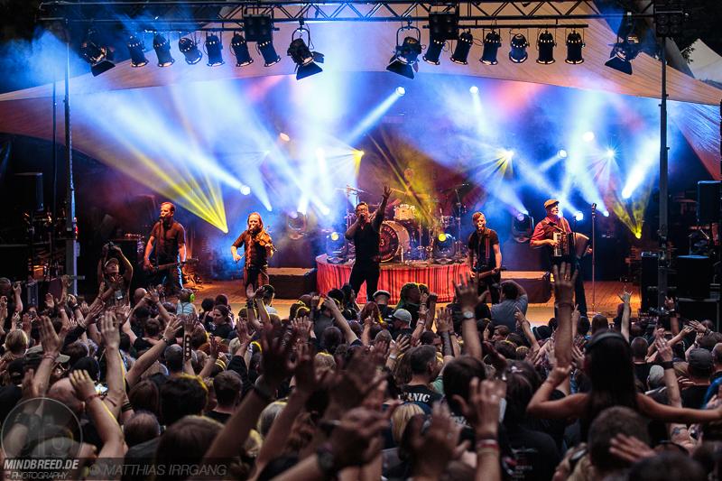 Fiddler's Green auf dem Feuertal Festival 2017 in Wuppertal.