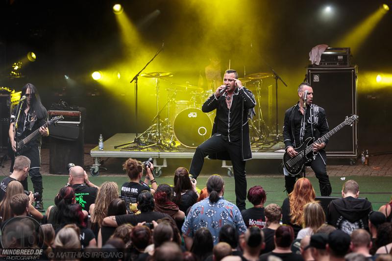 Stoneman auf dem Feuertal Festival 2017 in Wuppertal.