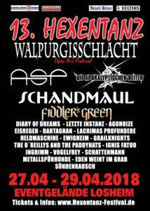 Hexentanz & Walpurgisschlacht Festival 2018
