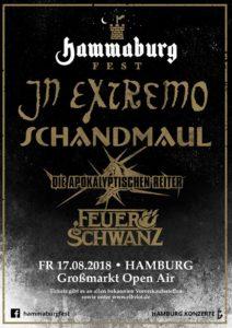 Hammaburg Fest 2018 - mit In Extremo, Schandmaul, Die Apokalyptischen Reiter und Feuerschwanz