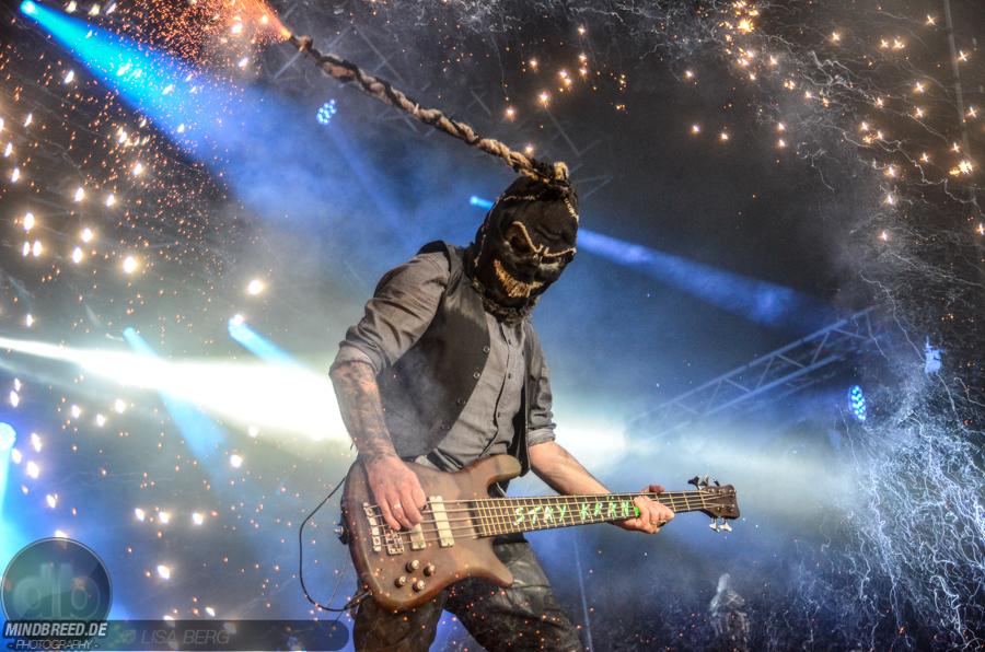 Hämatom (Bassist West) auf dem Rock am Stück Festival 2019 in Pfeffelbach
