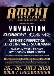 Amphi Festival 2020 - Erste Bands bestätigt