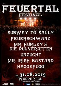 Feuertal Festival 2019 Flyer
