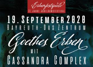 Erbenfestspiele 2020 - Goethes Erben