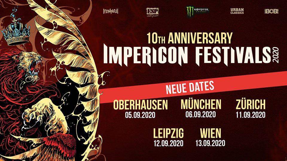 Impericon Festival 2020 - Neue Termine
