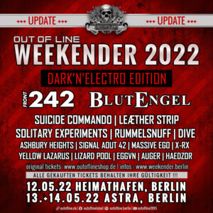 Out Of Line Weekender 2022