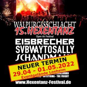 Walpurgisschlacht und Hexentanz Festival auf 2022 verschoben