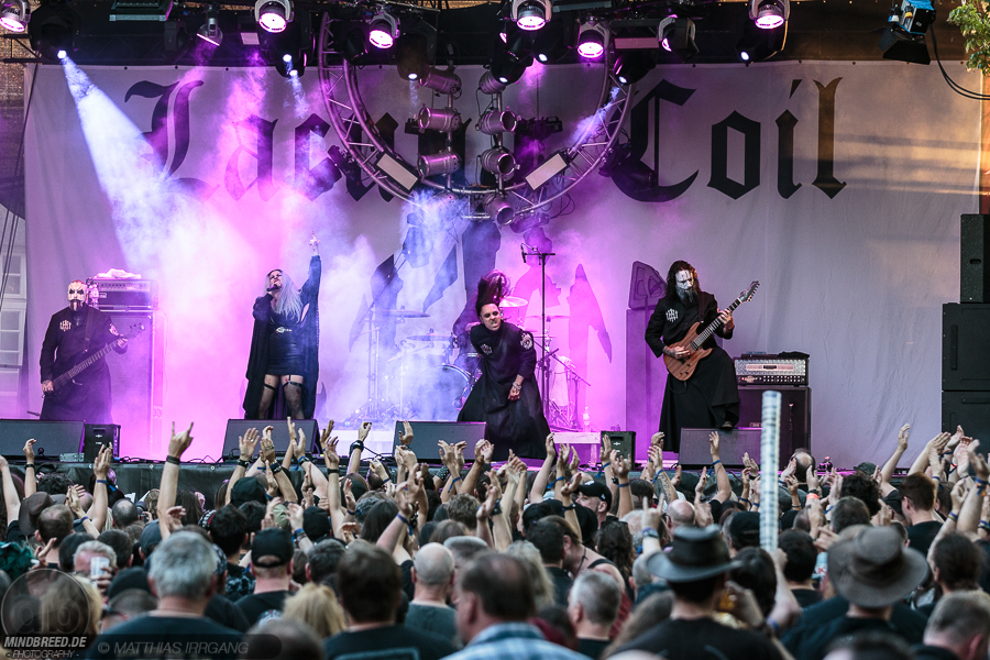 Lacuna Coil - Castle Rock 2018